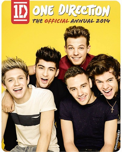 one direction,annual book 2014