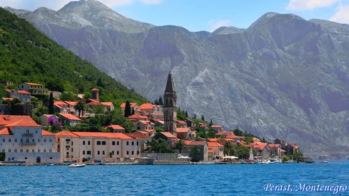 Perast, Adriatic coast beaches Eastern europa scenery