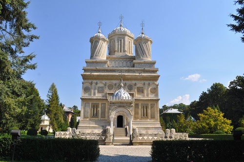 Curtea de Arges monastery Romania Eastern Europe orthodox