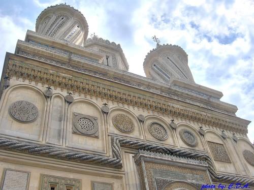 Curtea de Arges monastery Romania orthodox churches