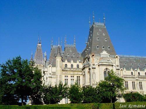 Iasi Romania Palace of Culture Eastern Europe cities