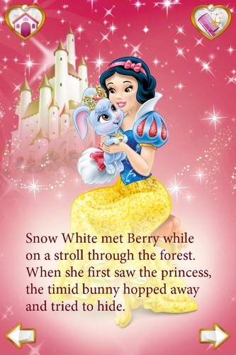 snow white and berry