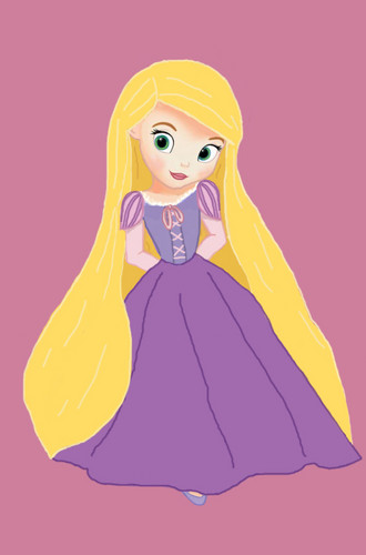 sofia as rapunzel