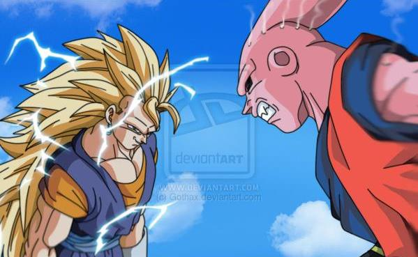 Vegito Vs Super Buu Wallpaper