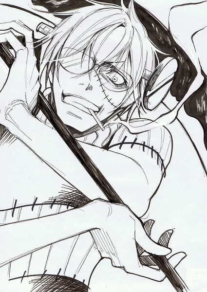 anime doctor coloring pages - photo#40