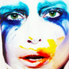 Lady Gaga picha probably containing a portrait titled · ARTPOP ·
