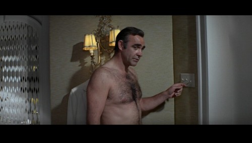 "James Bond fond d'écran with a gros morceau, hunk called ""Diamonds Are Forever"""