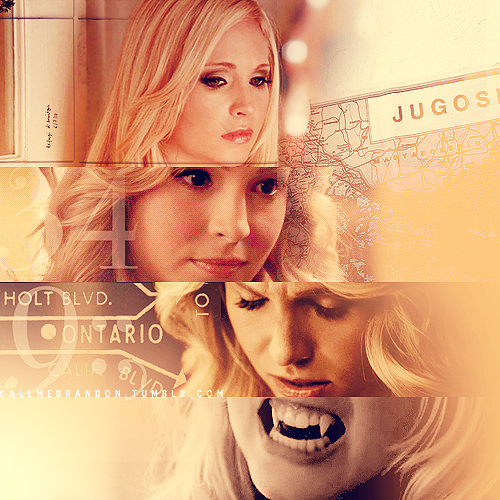 Caroline Forbes wallpaper possibly containing a portrait entitled » I can handle myself