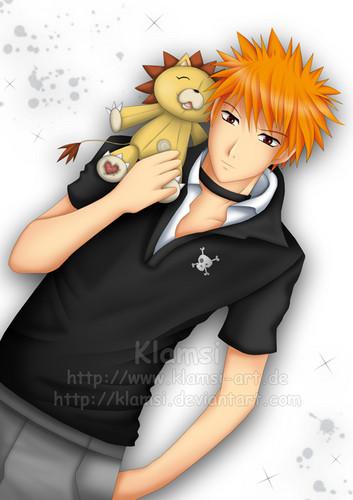 *Ichigo & Kon*