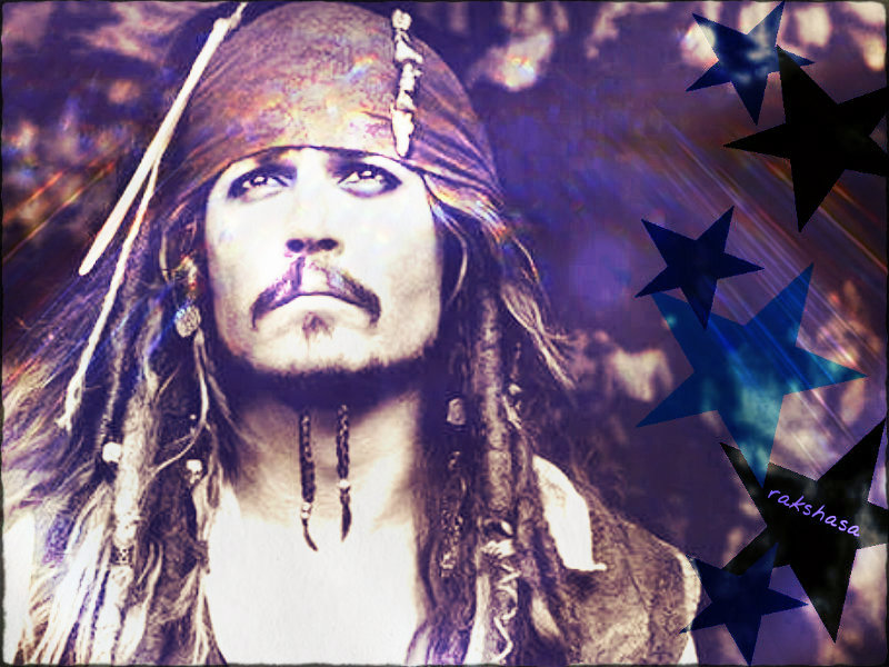 ☆ JD as Captain Jack Sparrow