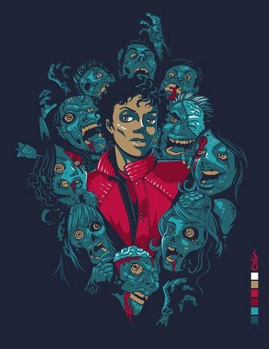 Michael Jackson wallpaper containing anime called << MJJ Art >>