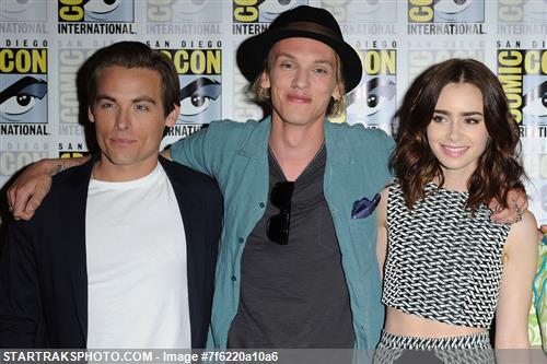 'MORTAL INSTRUMENTS' cast at Comic Con press conference (July 19, 2013)