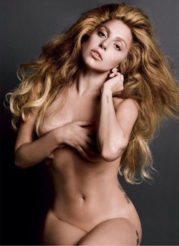 *NEW* Photo from Gaga's V Magazine Photoshoot