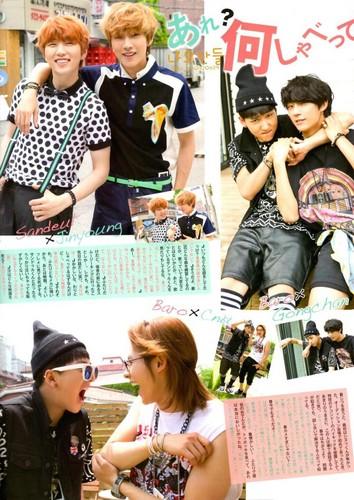 [SCANS] B1A4 for 'MYOJO' Hapon Magazine September 2013 Issue 13