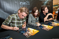 'THE MORTAL INSTRUMENTS' cast at Chicago Ridge Mall (July 30, 2013)