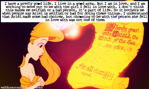 'The Little Mermaid' Tumblr Confessions