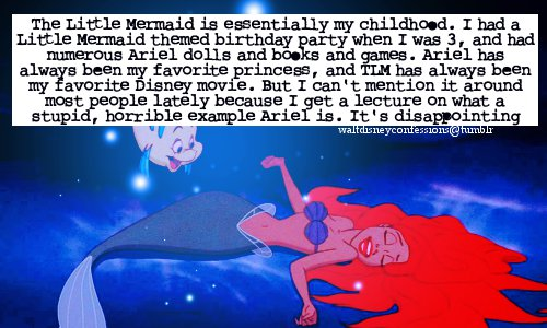 The Little Mermaid' Tumblr Confessions - Disney Princess