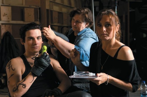 """The Mortal Instruments: City of Bones"" Alec still [BTS]"