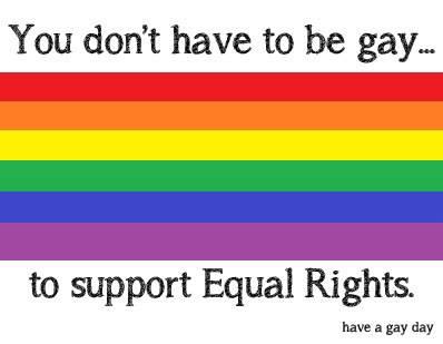 ♥ we deserve equal rights