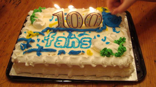 100 Fans!!!!