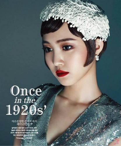 130804 Eunji & Naeun for Singles Magazine (Aug. 2013)