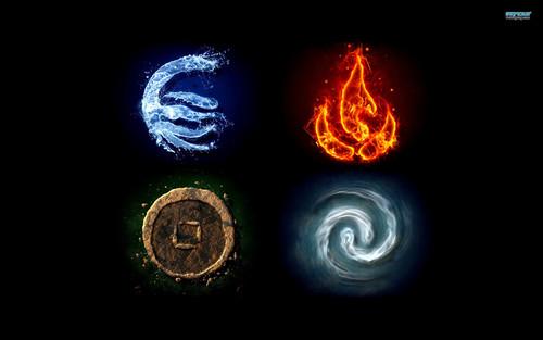 Avatar: The Last Airbender achtergrond titled 4 Elemnts