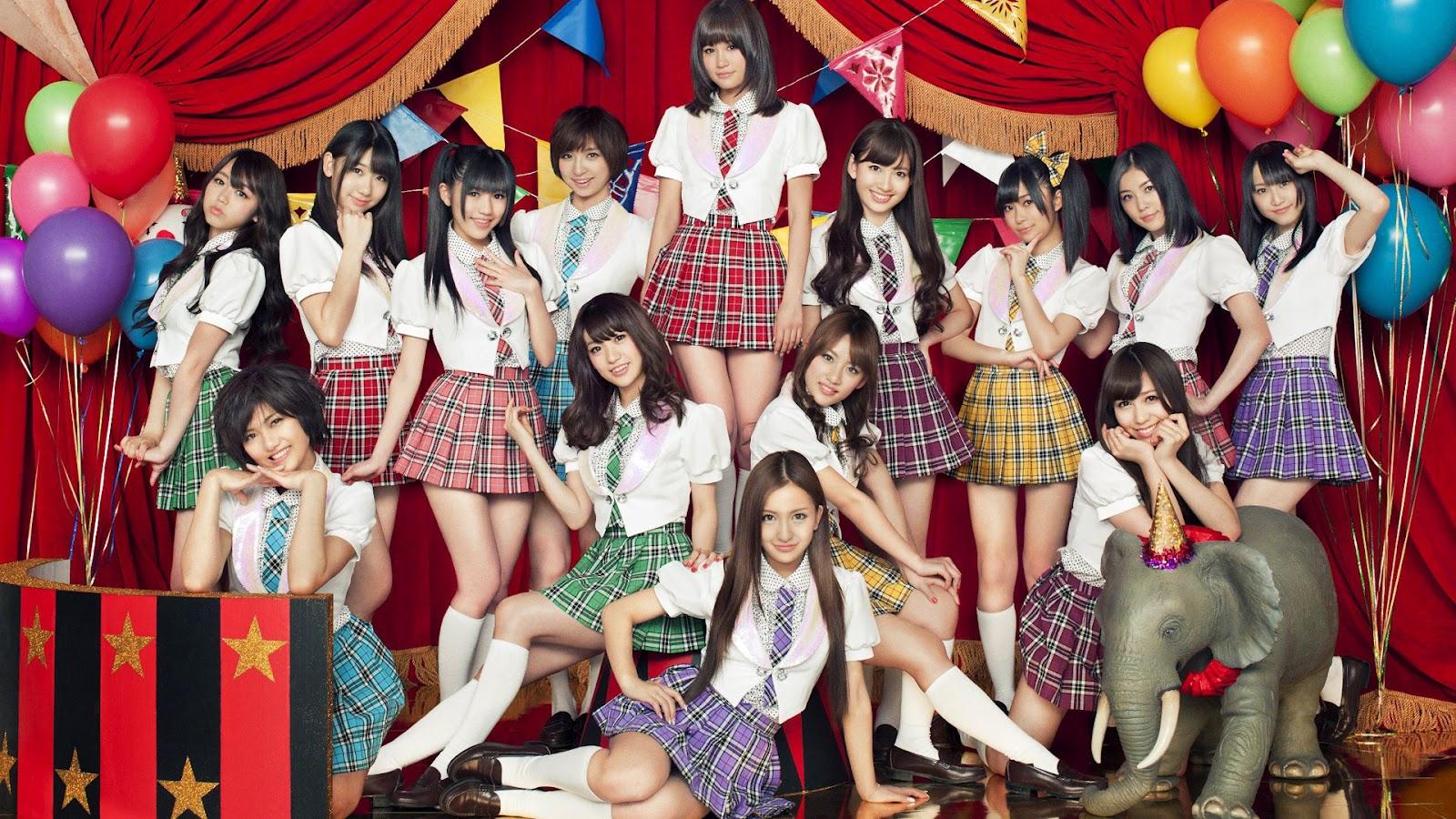 Japanese AKB48 Wallpaper