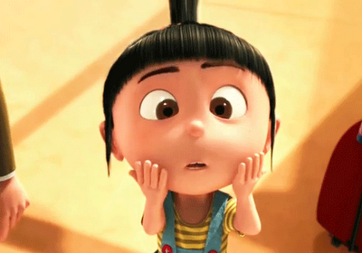 """Agnes """"Does this count as annoying?"""""""