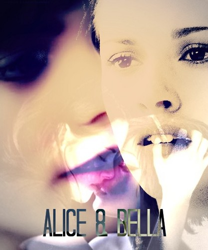 Alice and Bella fan art