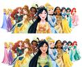 Alternate Princess Redesign Lineup