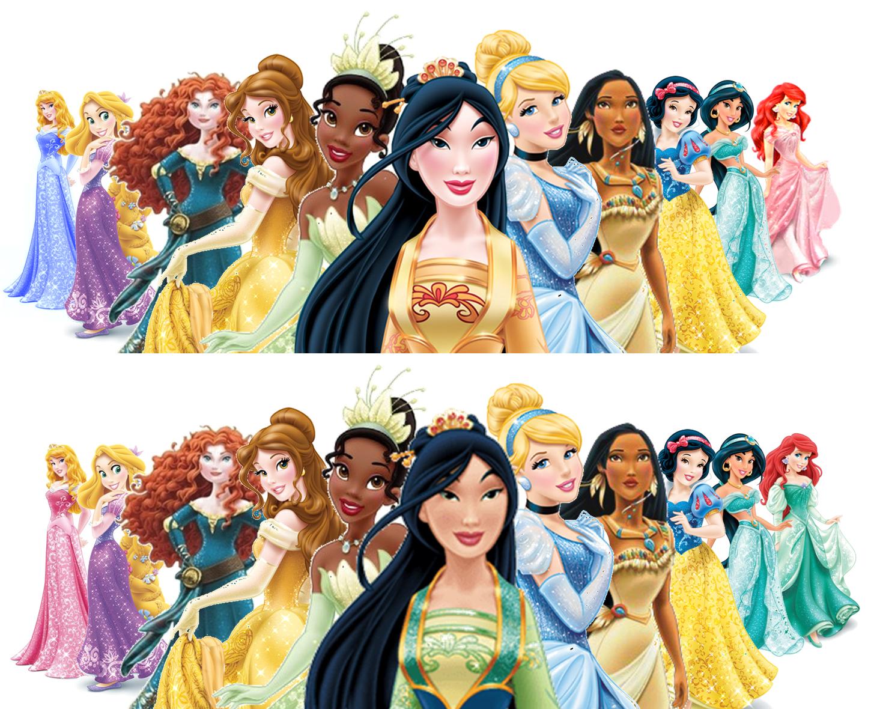 Princess Ariel Redesign Princess Redesign Lineup