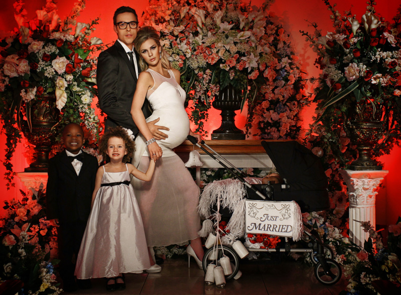 America's 다음 상단, 맨 위로 Model: Guys and Girls - Weddings 사진 shoot