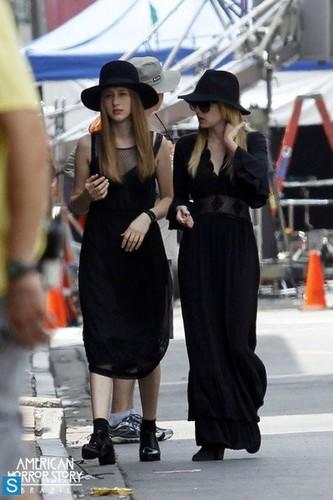 American Horror Story - Season 3 - বাংট্যান বয়েজ Set ছবি - 5th August 2013