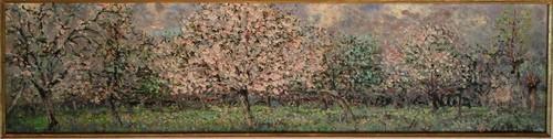 André Hambourg, سیب, ایپل trees blossom (Les pommiers en fleurs)