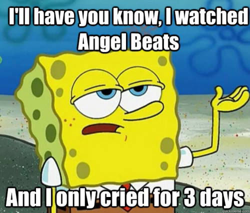 angel Beats! Cry