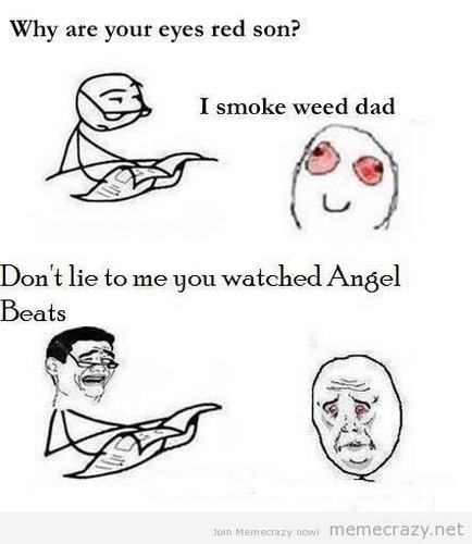 Angel Beats Meme! X3