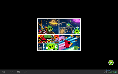 Angry Birds karatasi la kupamba ukuta possibly with anime entitled Angry Birds: Space