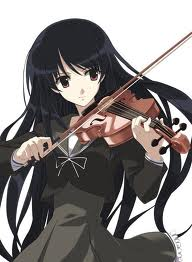 日本动漫 Girl Playing the Violin