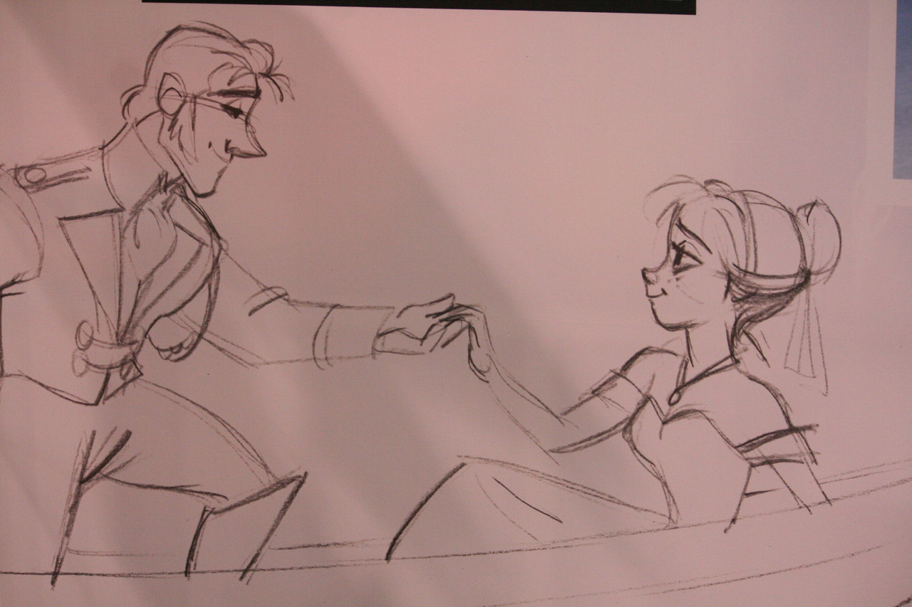 Anna and Hans Concept Art - Frozen Photo (35276223) - Fanpop