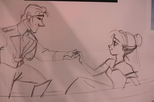Anna and Hans Concept Art