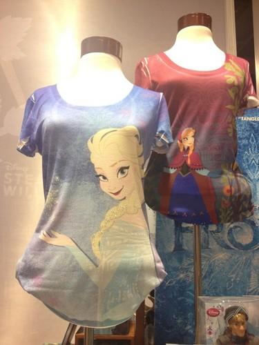 Anna and Elsa T-shirts