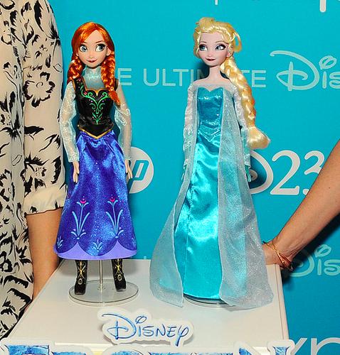 Anna and Elsa Puppen
