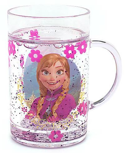 Anna and Elsa water filled tumbler