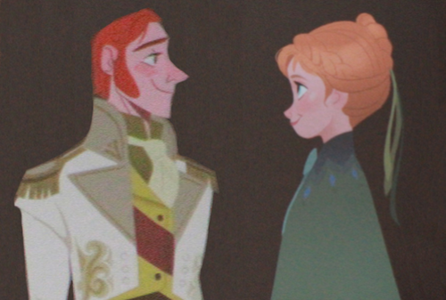 Anna and Hans Concept Art