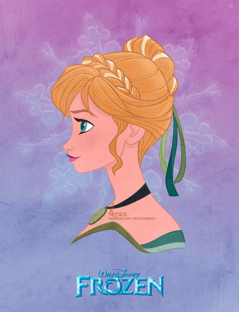 Anna Frozen Fan Art 35222243 Fanpop