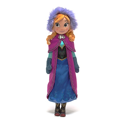 Anna plush from disney Store