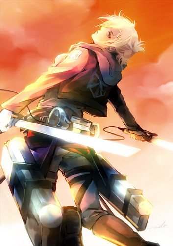 Shingeki No Kyojin (Attack on Titan) kertas dinding called Annie Leonhart