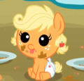 Applejack as a baby!