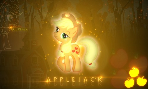 aguardiente de manzana, applejack (fan art)