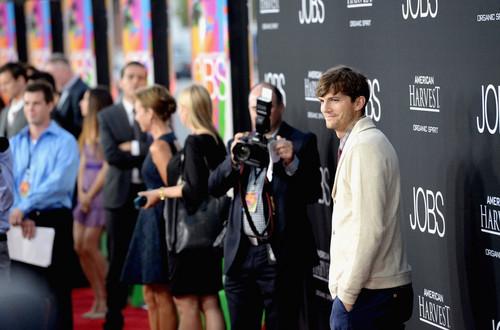 Ashton Kutcher LA Premiere of Jobs